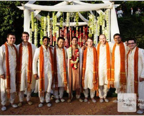 El novio en su boda hindú