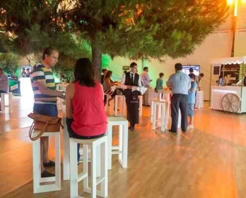 Zona cafetería para mundial de baloncesto