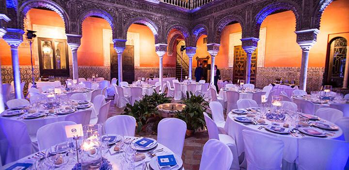 Banquete en Casa de Salinas en Sevilla