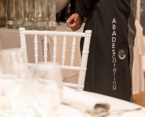 Detalle de personal de Abades Catering