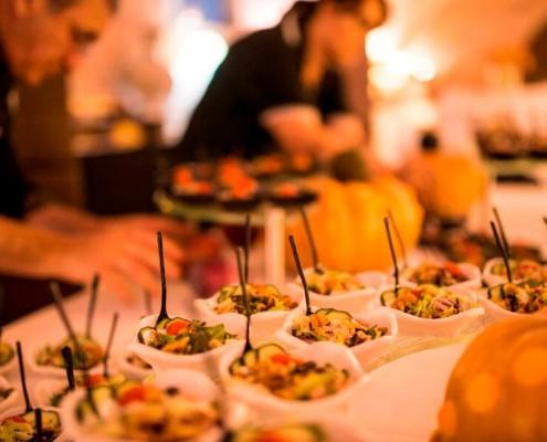 Catering en Pabellón de las Artes