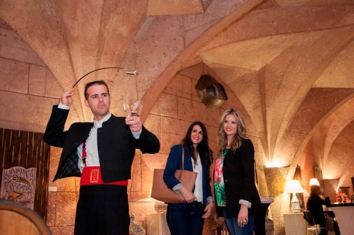 Venenciador en Pabellón de las Artes de Granada
