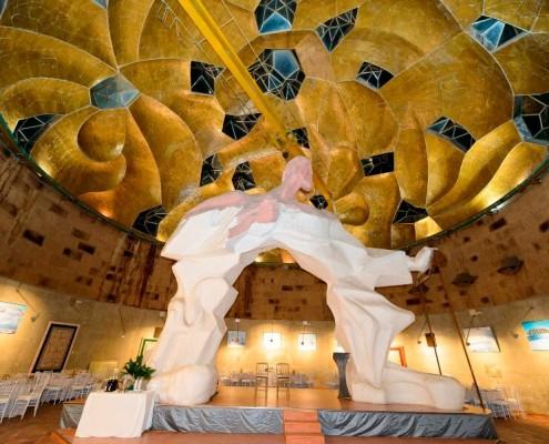 Hombre Arco en Sala de la Cúpula