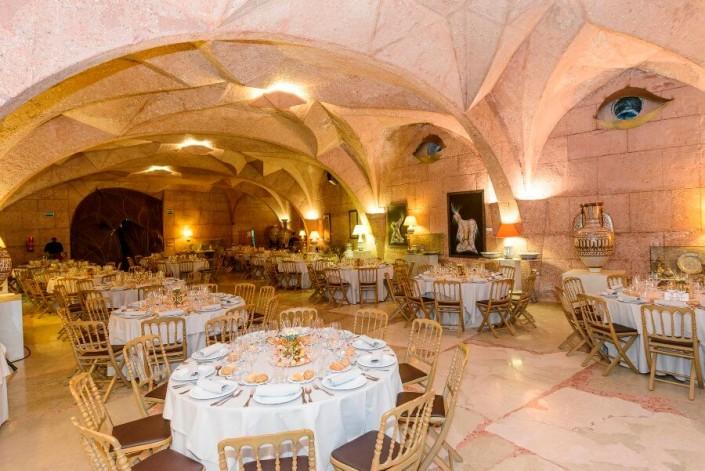 Banquete de boda en Sala de exposiciones del Pabellón de las Artes de Granada