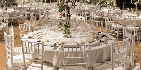 Catering para cena de gala para empresas