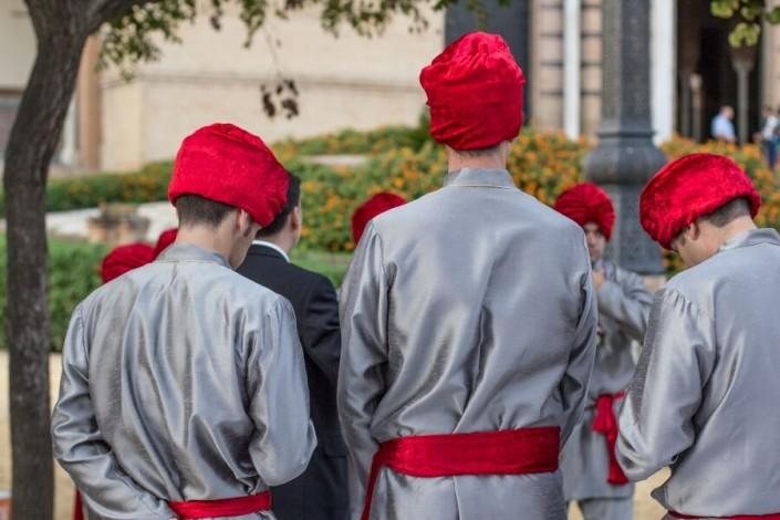 Cena de gala hindú en Sevilla
