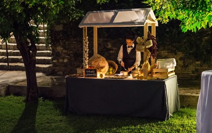 Rincón especializado en quesos para boda en Granada