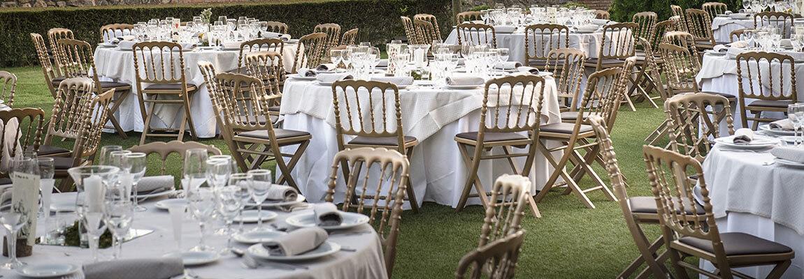 Banquete para evento con catering a domicilio
