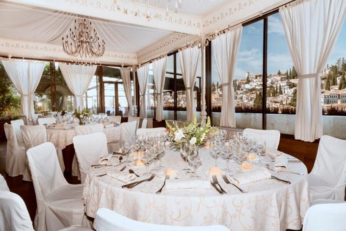 Evento de empresa con vistas a la Alhambra