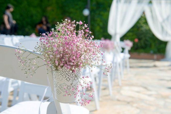 Detalle floral para bodas