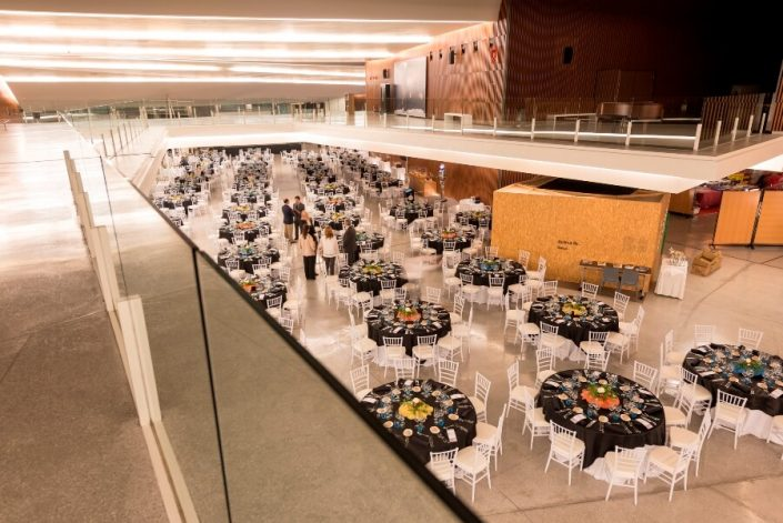 Montaje en banquete