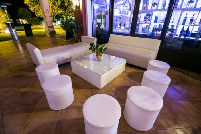 Zona Chill Out para bodas en Sevilla