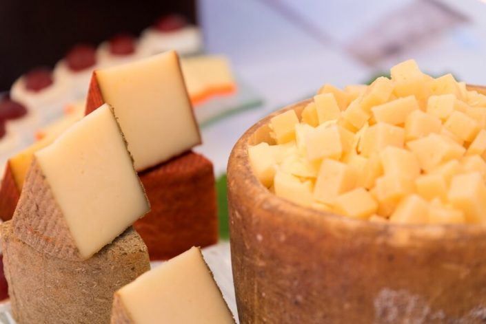 Rincón de quesos para eventos