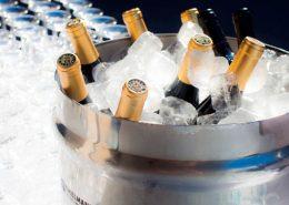 Cubitera con Champagne para aniversario de empresa