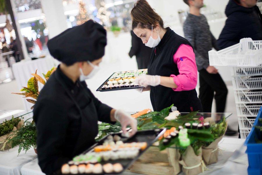 Preparación de catering