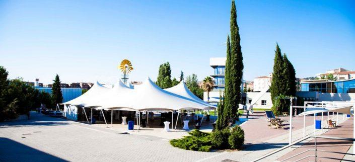 Carpa para eventos en el Parque de las Ciencias de Granada