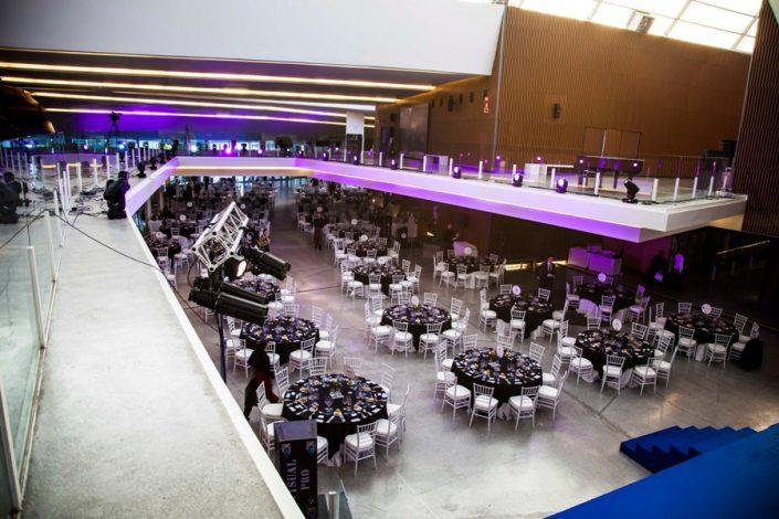 Montaje Cena de Gala en Parque de las Ciencias