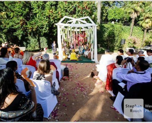 Celebración de bonda india en Carmen de los Mártires