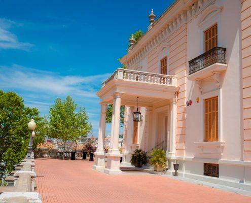 Exterior del Palacio de Quinta Alegre