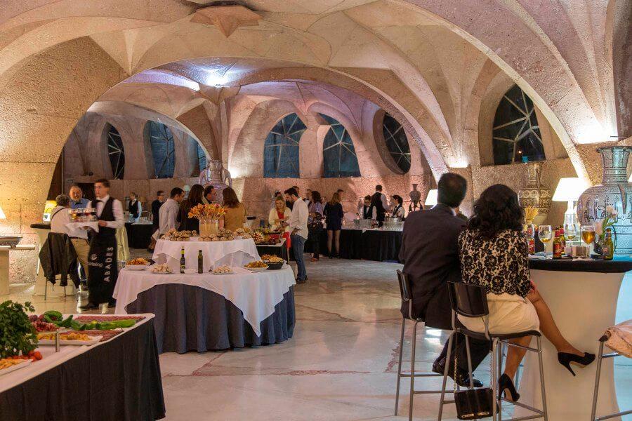 Servicio de catering en Sala de exposiciones del Pabellón de las Artes de Granada