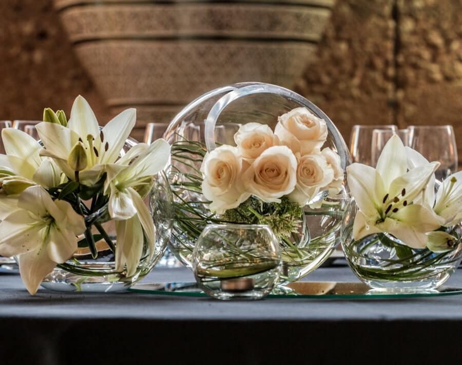 Decoración floral para bodas en Granada