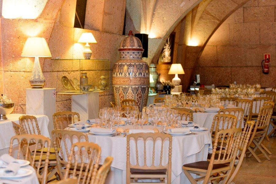 Banquete de boda organizado por Abades Catering