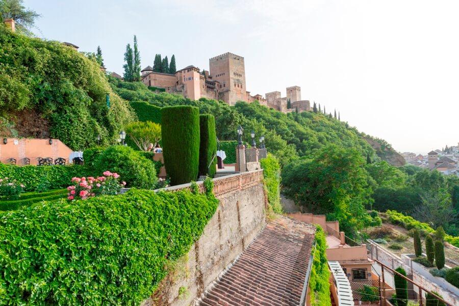 Eventos con vistas a la Alhambra desde el Carmen