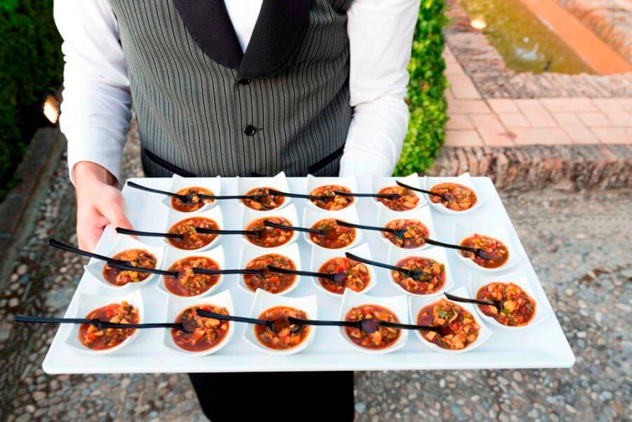 Servicio de catering para evento