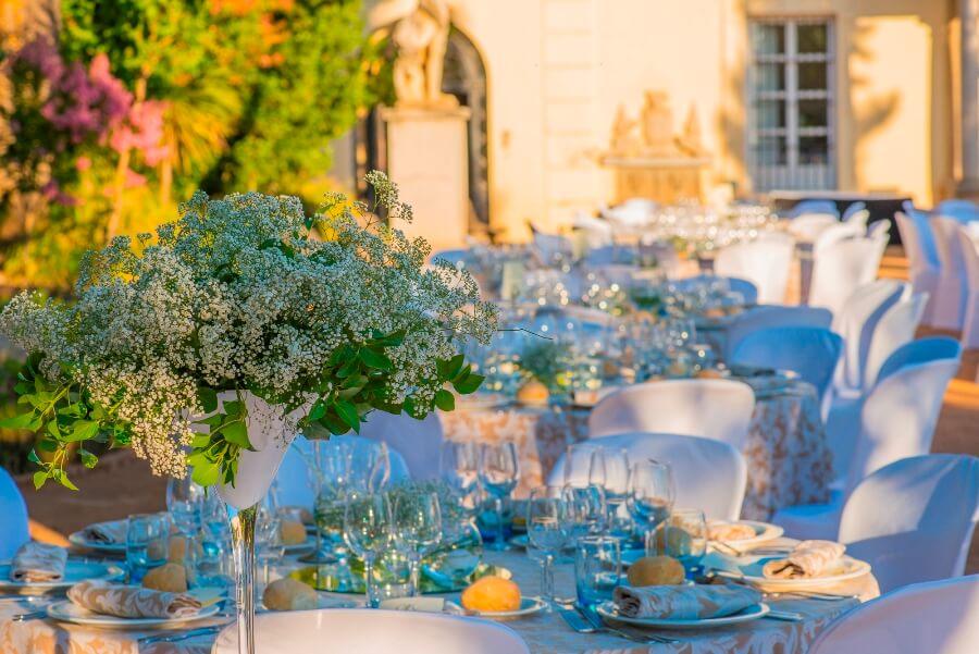 Decoración y montaje para celebración de boda