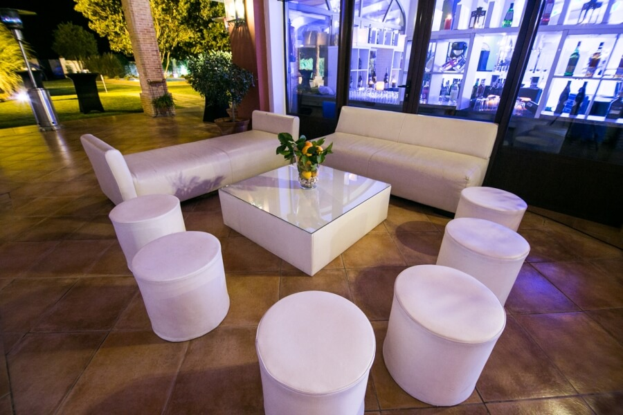 Zona Chill Out para bodas en Sevilla