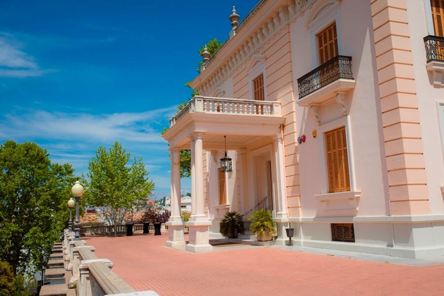 Zonas exteriores del Palacio de Quinta Alegre