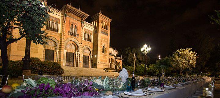 Montaje para catering en Sevilla para eventos