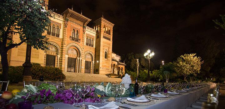 Catering en sevilla para bodas y eventos abades catering for Espectaculos en sevilla hoy