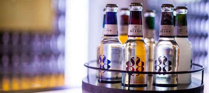 Botellas de Royal Bliss