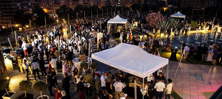 Cóctel en La Nube para el congreso de Abogacía en Granada