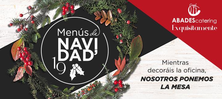Oferta de catering para menús de Navidad para eventos en Granada